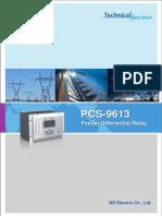Datasheet  - PCS-9631 Capacitor Protection (1)