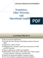 Module 6 - Transistors. Filter Networks and OpAmps.pdf