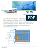 Flyer - PCS-978 Transformer Relay
