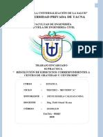 RESOLUCIÓN DE EJERCICIOS CORRESPONDIENTES A CENTRO DE GRAVEDAD Y CENTROIDE-PRACTICA CALIFICADA 02.doc