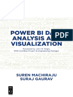 Power BI Data Analysis and Visualization