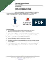 3. Plan de Respuesta ante Emergencias