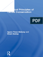 Chemical Principles of Textile Conservation-1998