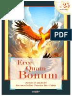 Ecce Quam Bonum 25