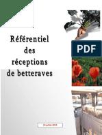 2015 Referentiel Des Receptions Version 2015-07-10 2