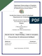Etat de l'art d'un Smart Parking, étude et conception d'un prototype de stationnement intelligen-(www.google.scholart).pdf
