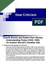 New Criticism 2