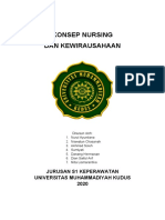 Konsep Nursing dan Kewirausahaan Kelompok 1
