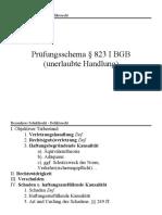 Prüfungsschema § 823 I BGB (unerlaubte Handlung) .docx