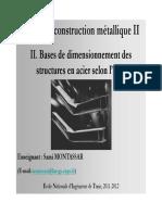 Cours_CM_2_Chapitre_2_Bases de dimensionnement des structures en acier_11_12