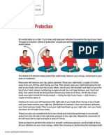 05. How to create the 'Shield of Protection' - Sahaja Meditation Program Handouts v1.2