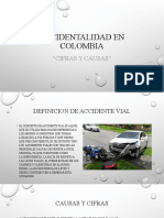 ACCIDENTALIDAD EN COLOMBIA