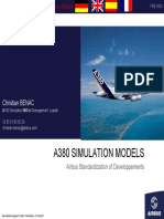 A380 SIMULATION MODELS