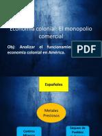 Economía Colonial Octavo