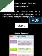 Independencia de Chile y Sus Consecuencias Octavo