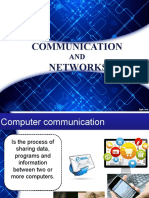 Communication and Networks