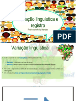VARIAÇÃO LINGUSITICA