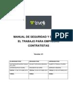 49513756_M-SGS-GT-04. Manual de SST para Empresas Contratistas TRIVELLI