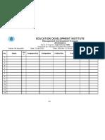 5 Attendance Sheet 1
