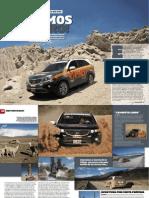 Kia Sorento 4WD... no trilho do Dakar (Parte I - Autosport)