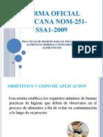 NORMA OFICIAL NOM-251