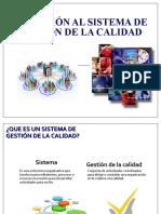Inducción SGC Y CONTROL DE DOCUMENTOS (Personal nuevo ingreso-2019)