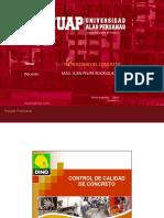 SEMANA 15 - Control de calidad del Concreto