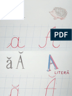 alfabetul de la A la Z
