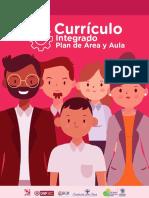 2. Cartilla currículo integrado, planes de área y planes de aula