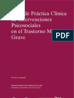GPC Intervenciones Psicosociales en PMG.