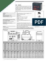 CSB GP1234 - Hoja de datos