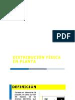 distribucion de planta- conceptos