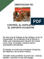 Regulación Control Doping - Rosario de Martínez.ppt