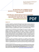 10. En pos de políticas comerciales