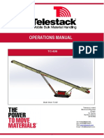 Manual de operacion Telestack TC 420