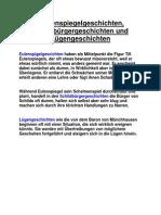 Euelenspiegel-,Schildbürger-,Lügengeschichten