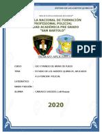 AGENTES QUIMICOS -  USO Y MANEJO DE ARMAS CARRASCO y video