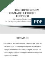 PRIMEIROS SOCORROS EM DESMAIOS