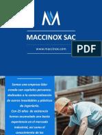 PRESENTACIÓN MACCINOX
