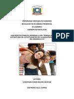 Guia Psicologia del Desarrollo II