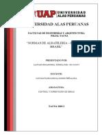 normativa extranjera de albañileria - sirena