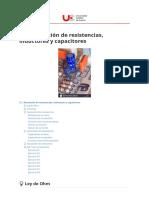 2.1.Asociación de resistencias, inductores y capacitores