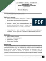 Unidad I - Principios y fundamentos de la química - Química y materia