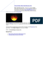 Planet Terkecil Diluar Bima Sakti Bernama 10