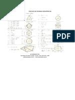 Cálculo de figuras geométricas