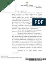 El 3 de agosto y de manera remota se reinicia el juicio por la obra pública en Santa Cruz
