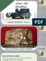 01 - NOÇÕES DE DIREITO - AULA 1
