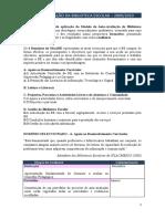 Plano de avaliação  BE 2009-10