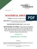2 - Material Didático - Admissão e Demissão.pdf - Novos caminhos.pdf