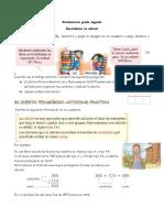 Matematicas grado segundo